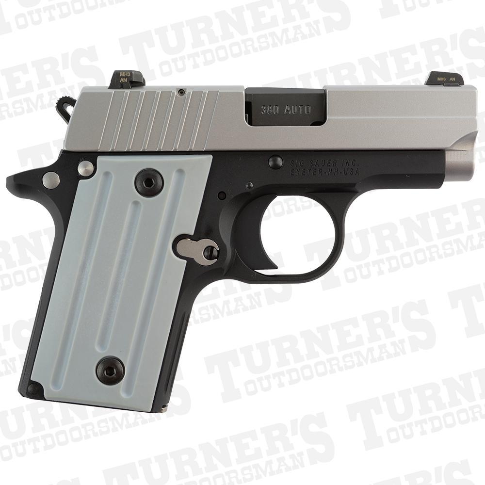 medium resolution of sig sauer p238 380acp 2 7 barrel night sights two tone item 238 380 tss ca