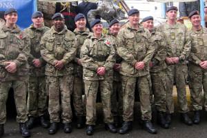 Armed forces REME LMS squad