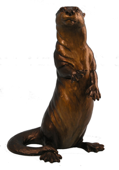 Turner Sculpture Otter Sculptures Otter Curiosity