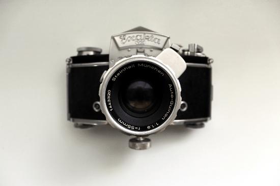 Exakta Camera Front
