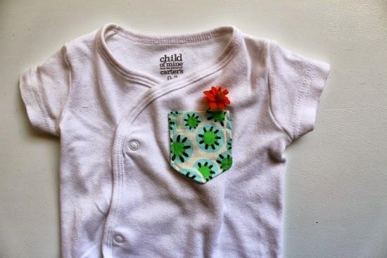 Onsie Pocket Flower
