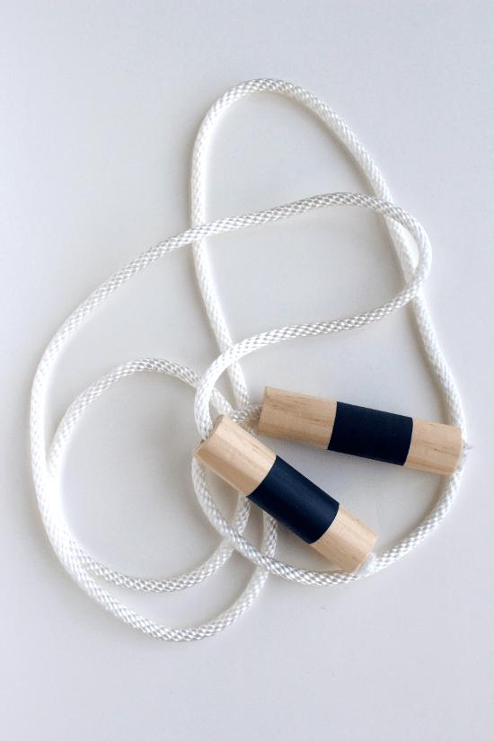 wood jump rope