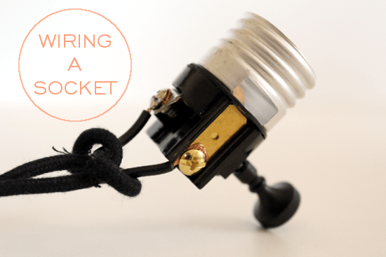wire a socket how to