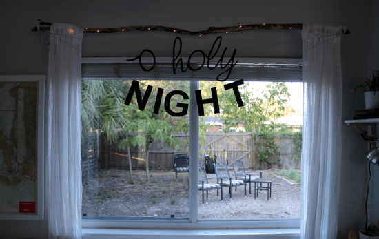 O' Holy Night Banner