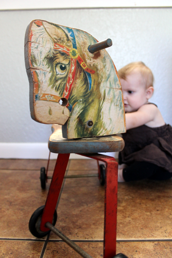 Vintage Play Horse