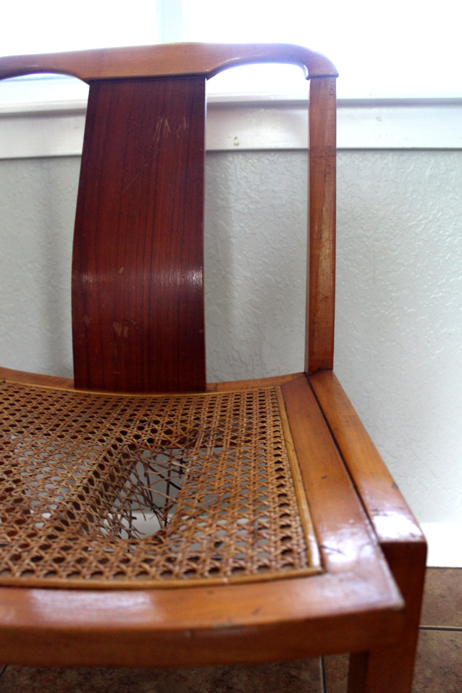 Broken Chair Seat