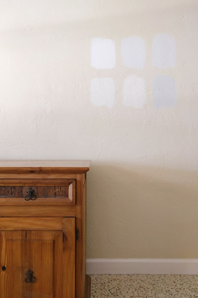 paint color, swatches, gray paint, white paint