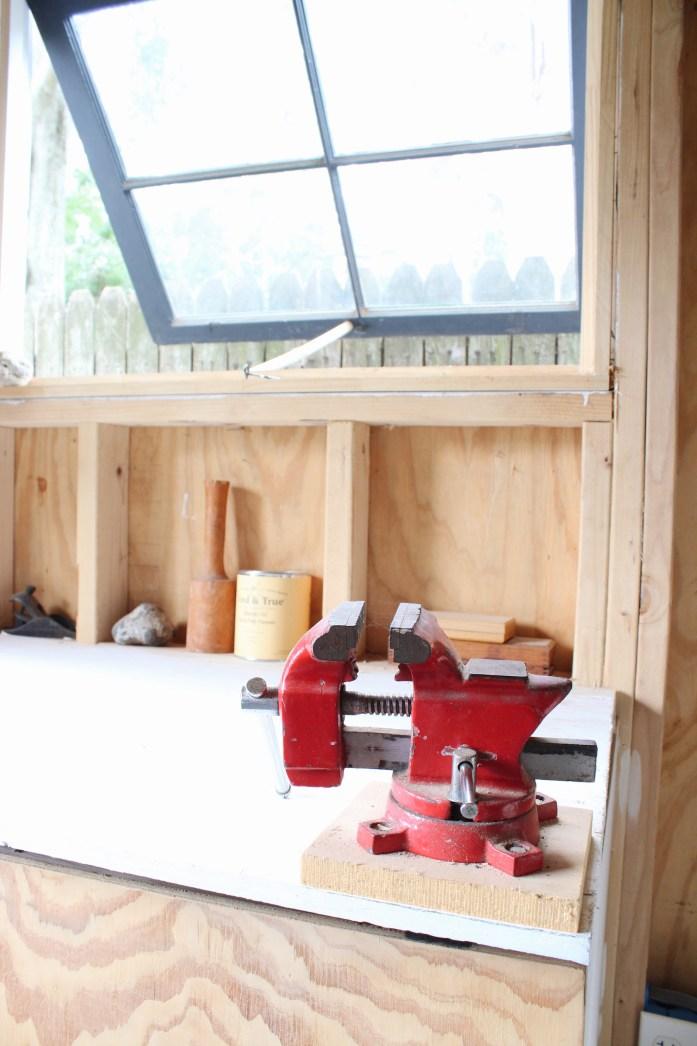 backyard shed workshop