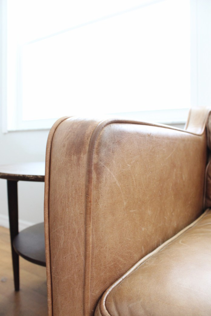 how to remove cat scratches west elm sofa