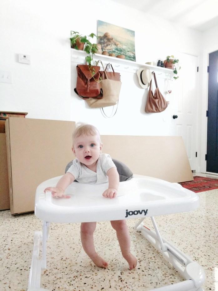 Six month old Joovy Walker