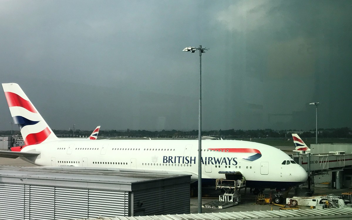 British Airways A380 Club World upper deck Review