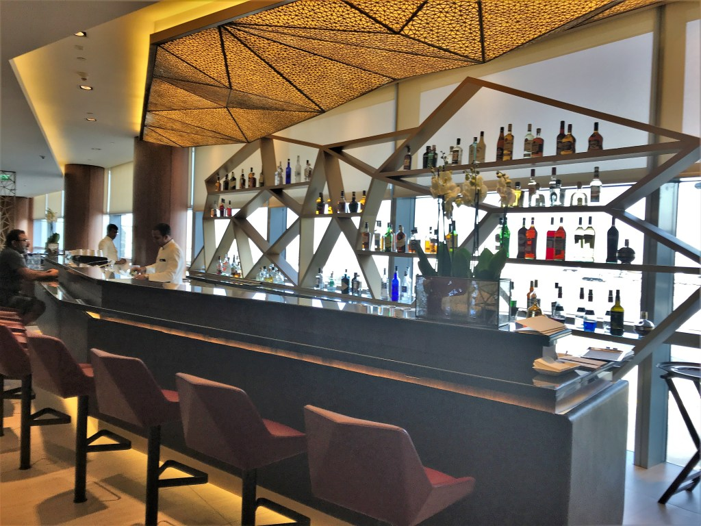 Etihad First Class Lounge Abu Dhabi Review Turning Left