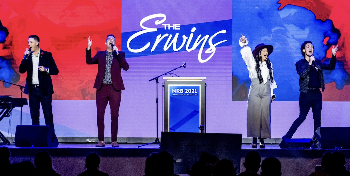 THE ERWINS STEP INTO THE SPOTLIGHT AT NRB 2021