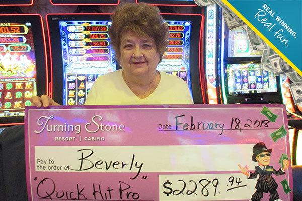 Big Winners  Turning Stone Resort Casino