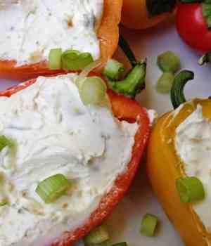Green Pepper Dip