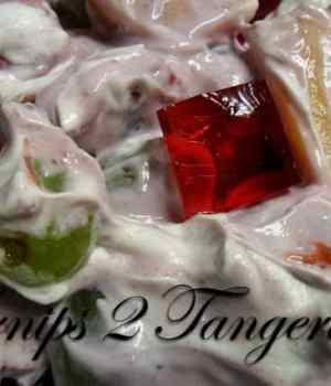 Fruit Salad Tossed with Noosa Yogurt