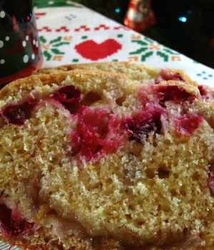 Cranberry Orange Marmalade Bread