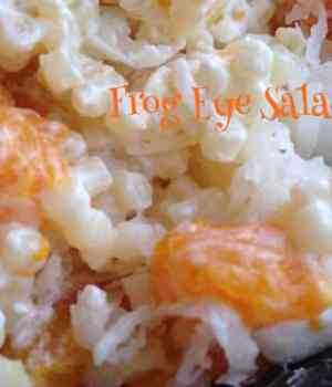 Frog Eye Salad #SundaySupper