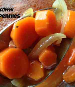 Copper Pennies or Sweet and Sour Carrot Salad