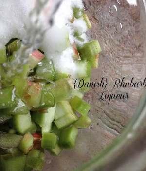 Danish Rhubarb Liqueur