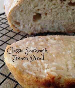 Classic Sourdough French Bread