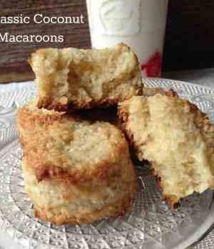 Classic Coconut Macaroons