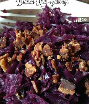 Braised Red Cabbage #SundaySupper