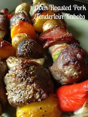 Oven Roasted Pork Tenderloin Kabobs Turnips 2 Tangerines