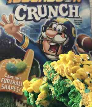 Captain Crunch Touchdown Marshmallow Treats