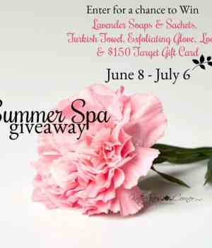 Summer Spa Giveaway! Everyone's Welcome.
