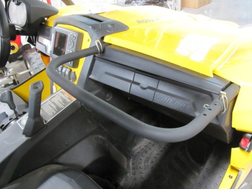 small resolution of can am commander adjustable passenger grab handle