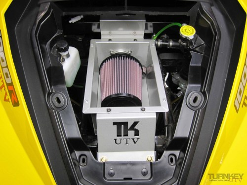 small resolution of can am maverick race air intake system
