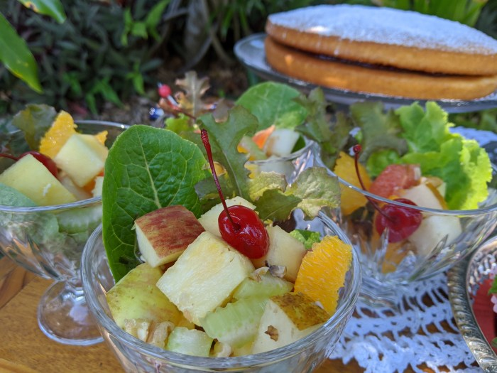 epicurean fruit salad, recipe from 1935