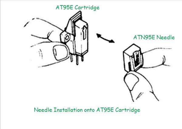 ATN3400 ATN95E Type HyperElliptical Upgrade Bonded Stylus