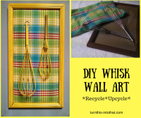 DIY Kitchen Wall Art  Whisk it up!  Turn This Into That