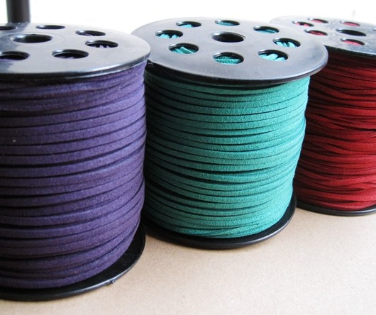 Korea Imitation leather Cord wholesale Craft Supplies