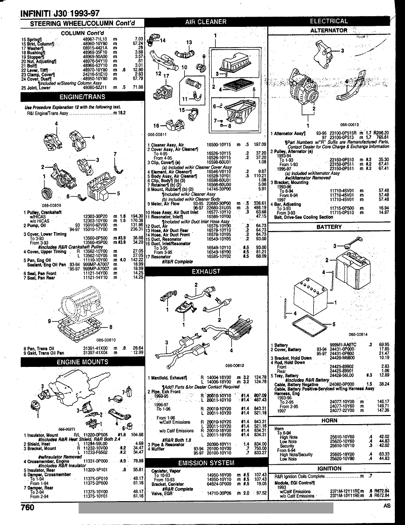 1995 Infiniti J30 Fuse Box • Wiring Diagram For Free
