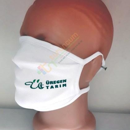 Biyeli Reklam Logo Baskılı Kurumsal Firma Maskeleri Logolu Maske Fiyatları