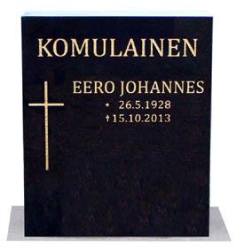 Musta hautakivi 40 x 50 539 €