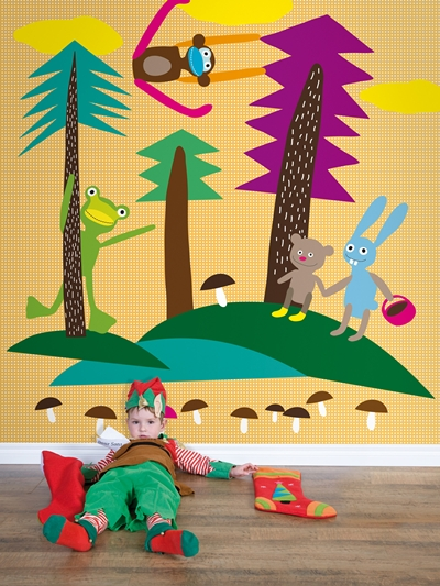 murales infantiles coordonne 3 Murales infantiles y papeles pintados de Coordonne