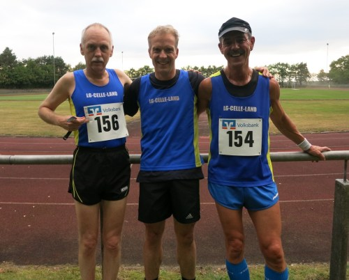 vlnr: Nick Wendel, Stefan Bädermann, Detlef Müller