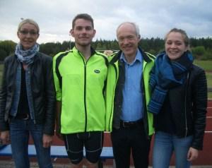 vlnr: Sandra Messmer, Fabian Krüger, Hans-Jürgen Köhler, Stefanie Liedke