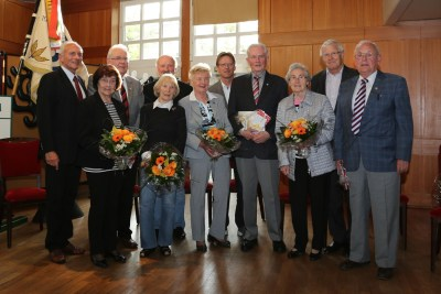 Ehrung für 60- und 70-jährige Mitgliedschaft