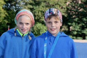 Marie und Max Dehning Sieger der Goldenen Zwergenmedaille