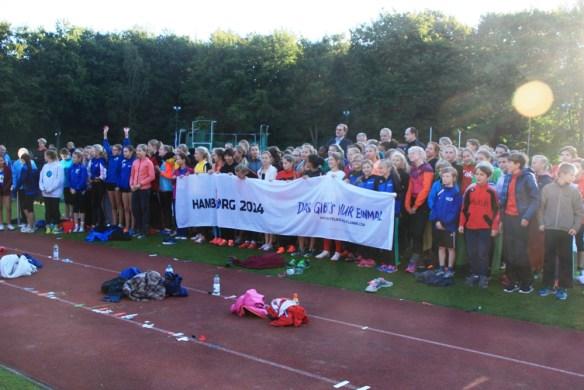 Der Traum der jungen Athleten: Hamburg 2024..... dann sind sie im besten Sportleralter !