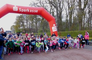 Start Lauf 3b 1 km