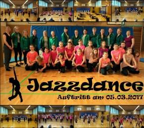 Jazz-Dance Auftritt 05.03.17