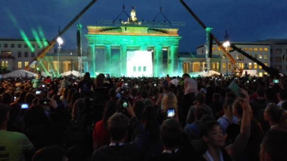 Tolle Stimmung in Berlin