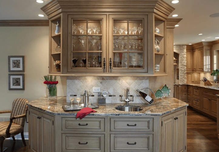 Kitchen Cabinets Tuscan Home 101