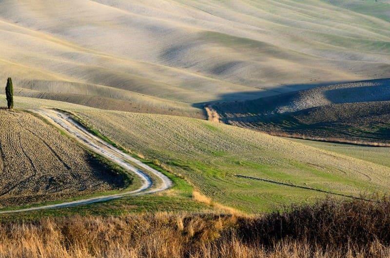 Crete Senesi landscape near Siena